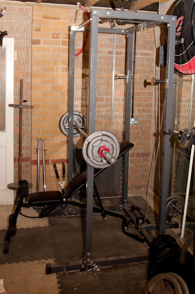 Getting started with my new garage gym
